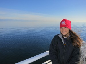 Katie on Tsawwassen Ferry