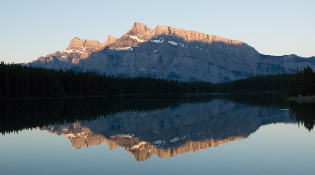 Banff National Park at dawn
