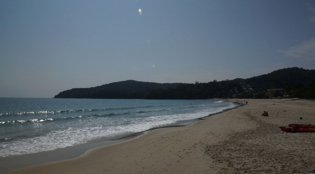 Beach at Noosa Heads, Queensland, Australia